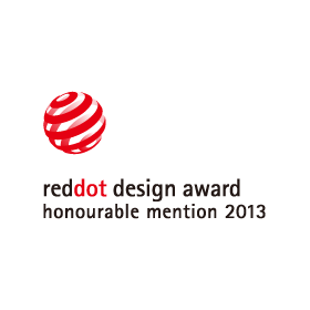 Red Dot Design Award Honourable Mention 2013