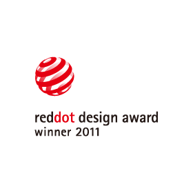 Red Dot Design Award Winner 2011