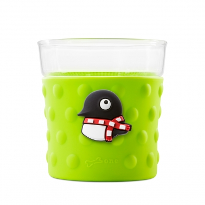 Bubble Glass Cup - Penguin