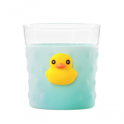 Bubble Glass Cup - Duck