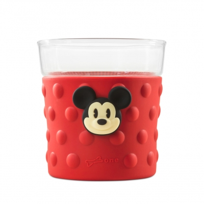 Bubble Glass Cup - Mickey