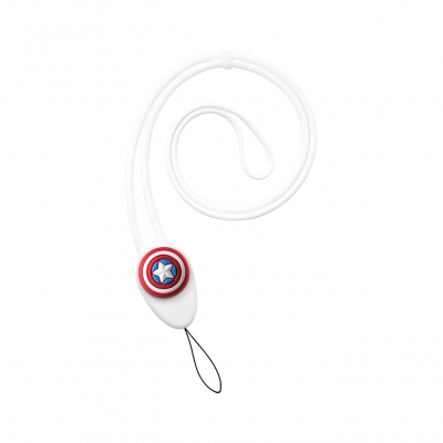 Charm Lanyard Plus - Captain America