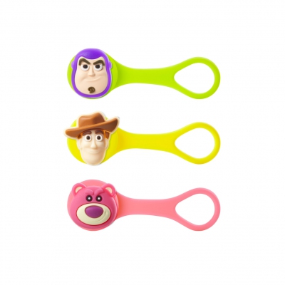 Q Cord Ties - Toy Story Figure