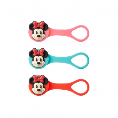 Minnie Mouse - Q Cord Ties