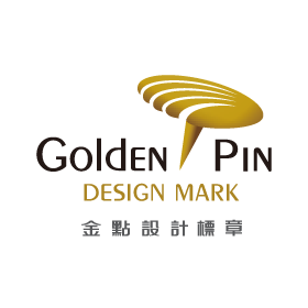 Golden Pin Design Mark