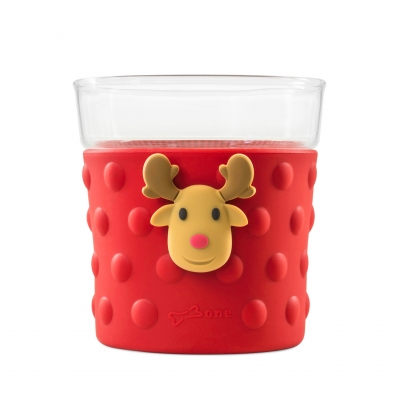 Bubble Glass Cup - Deer