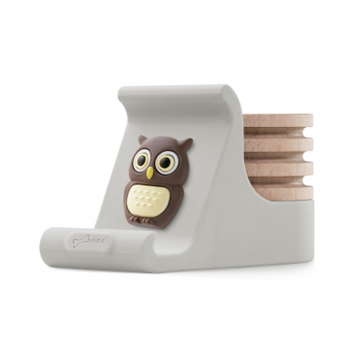 Charm Diffuser Phone Stand - Owl Wes