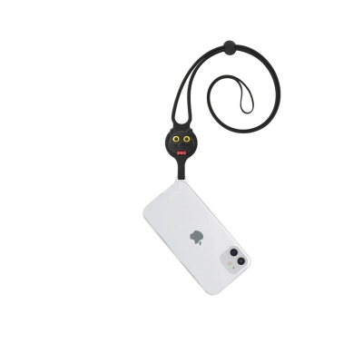 Lanyard Case iPhone 12 Mini - Miao Cat