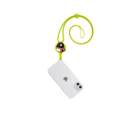 Lanyard Case iPhone 12 Mini - Maru Penguin
