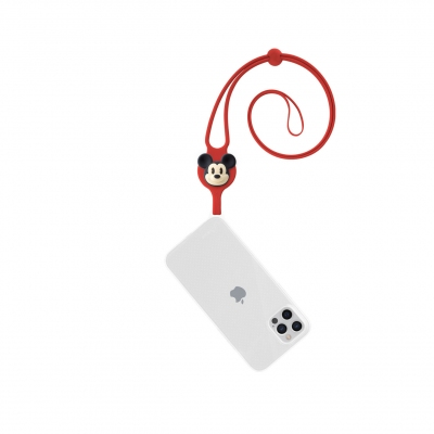 Lanyard Case iPhone 12 / 12 Pro - Mickey Mouse