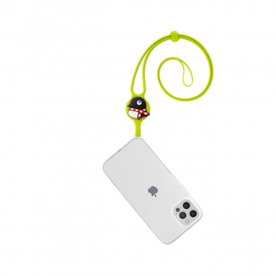 Lanyard Case iPhone 12 Pro Max - Maru Penguin
