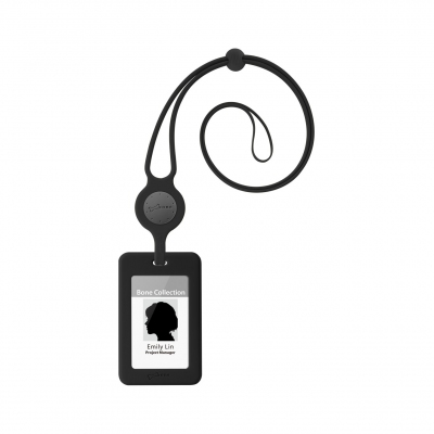 Lanyard Badge Holder - Black