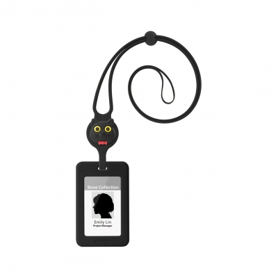Lanyard Badge Holder - Miao Cat
