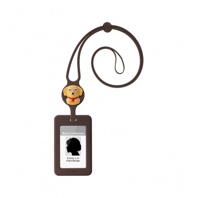 Lanyard Badge Holder - Miling Dog