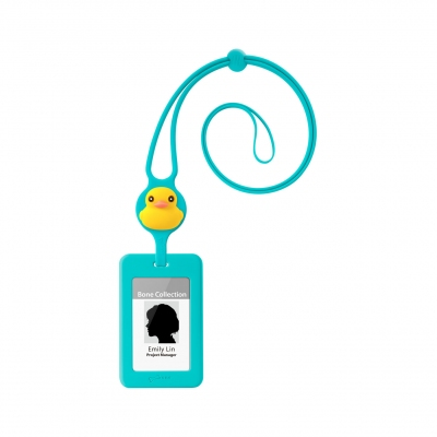Lanyard Badge Holder - Patti Duck