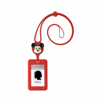 Lanyard Badge Holder - Mickey Mouse