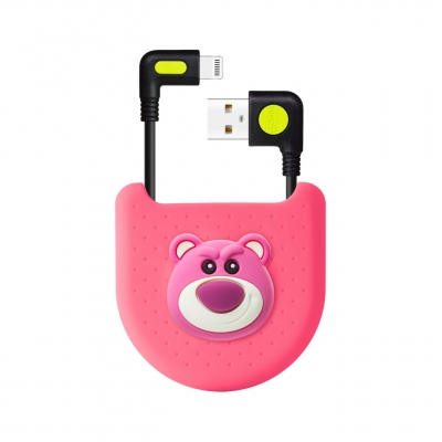 L-Shaped Bag Kit (Lightning / USB-A) - Lotso Bear