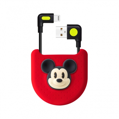 L-Shaped Bag Kit (Lightning / USB-A) - Mickey Mouse