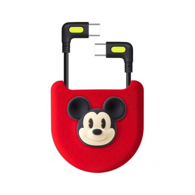 L-Shaped Bag Kit (USB-C / USB-C) - Mickey Mouse